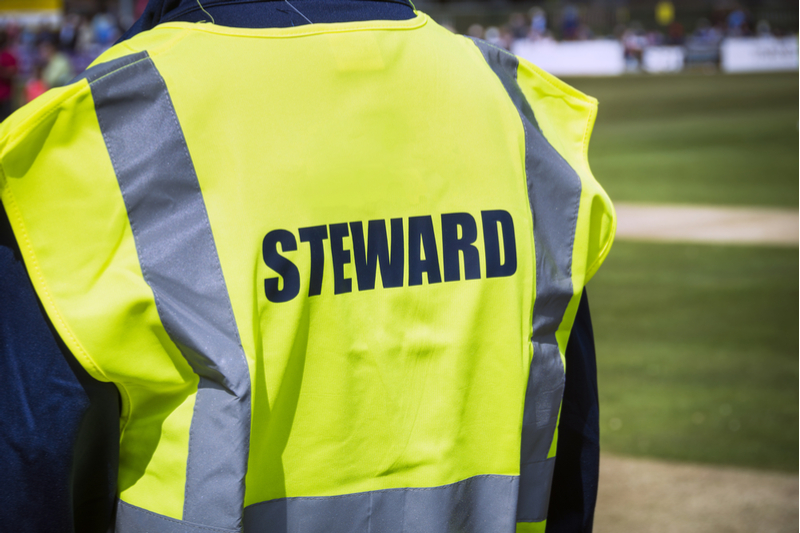 Protective workwear and equipment for event stewards