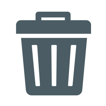 phs besafe rubbish bin icon